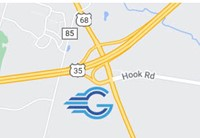 Greene County Career Center Map